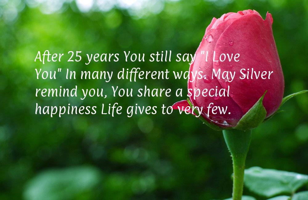 25th Anniversary Quotes For Wife. QuotesGram