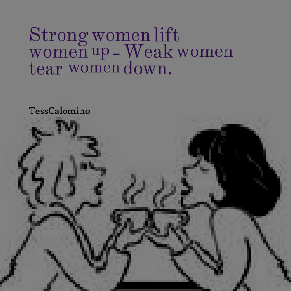 topic show with strong dominant women