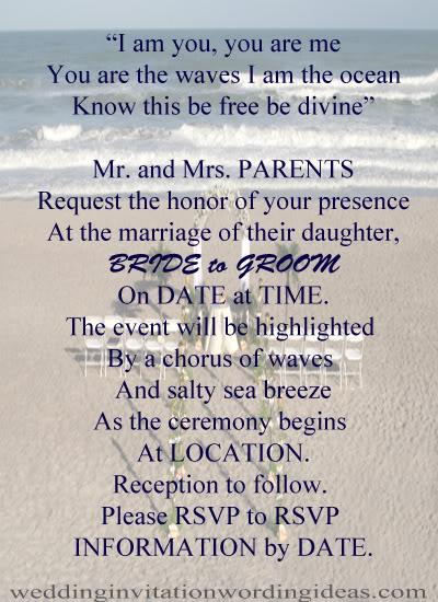 Creative Wedding Invitation Quotes For Friends: Ocean Wedding Quotes. QuotesGram