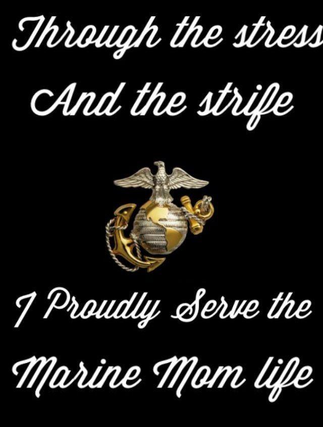 Marine Mom Quotes Quotesgram
