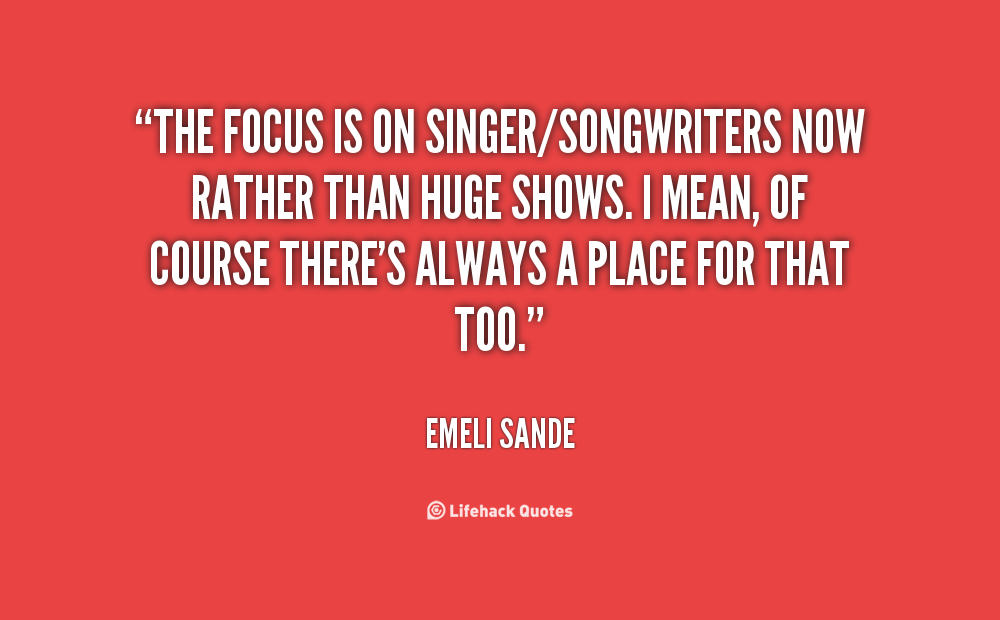 Inspirational Quotes For Singers Songwriters. QuotesGram