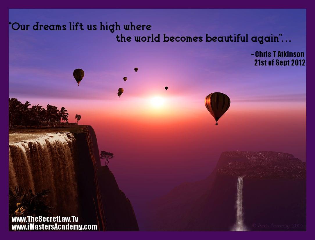 Inspiring Dream Quotes Positive. QuotesGram