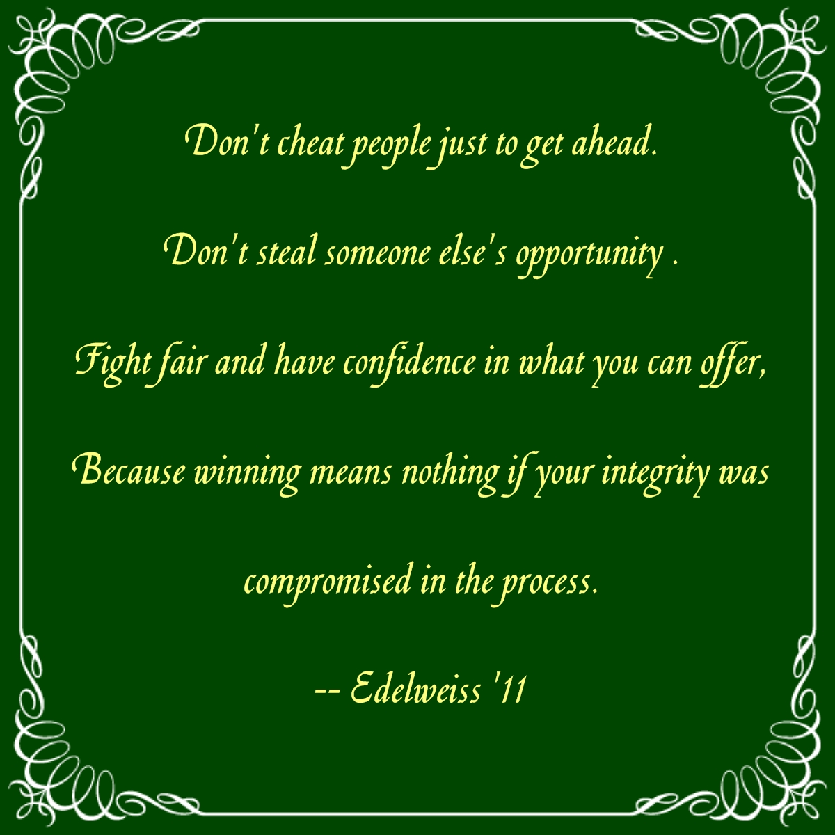 Integrity Quotes For The Workplace Quotesgram