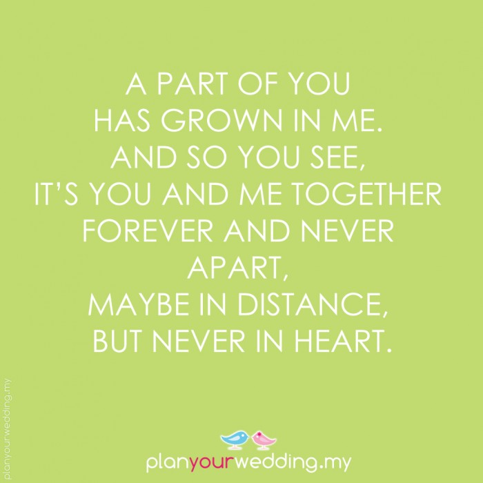 You Are A Part Of Me Quotes. QuotesGram