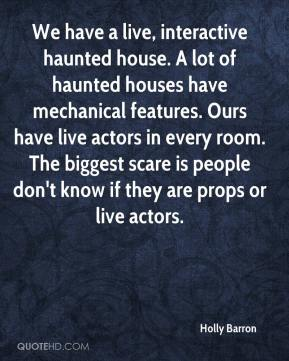 Haunted places quotes