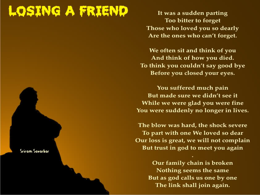 Quotes About Lost Friendship Quotesgram: Quotes About Losing A Friend. QuotesGram