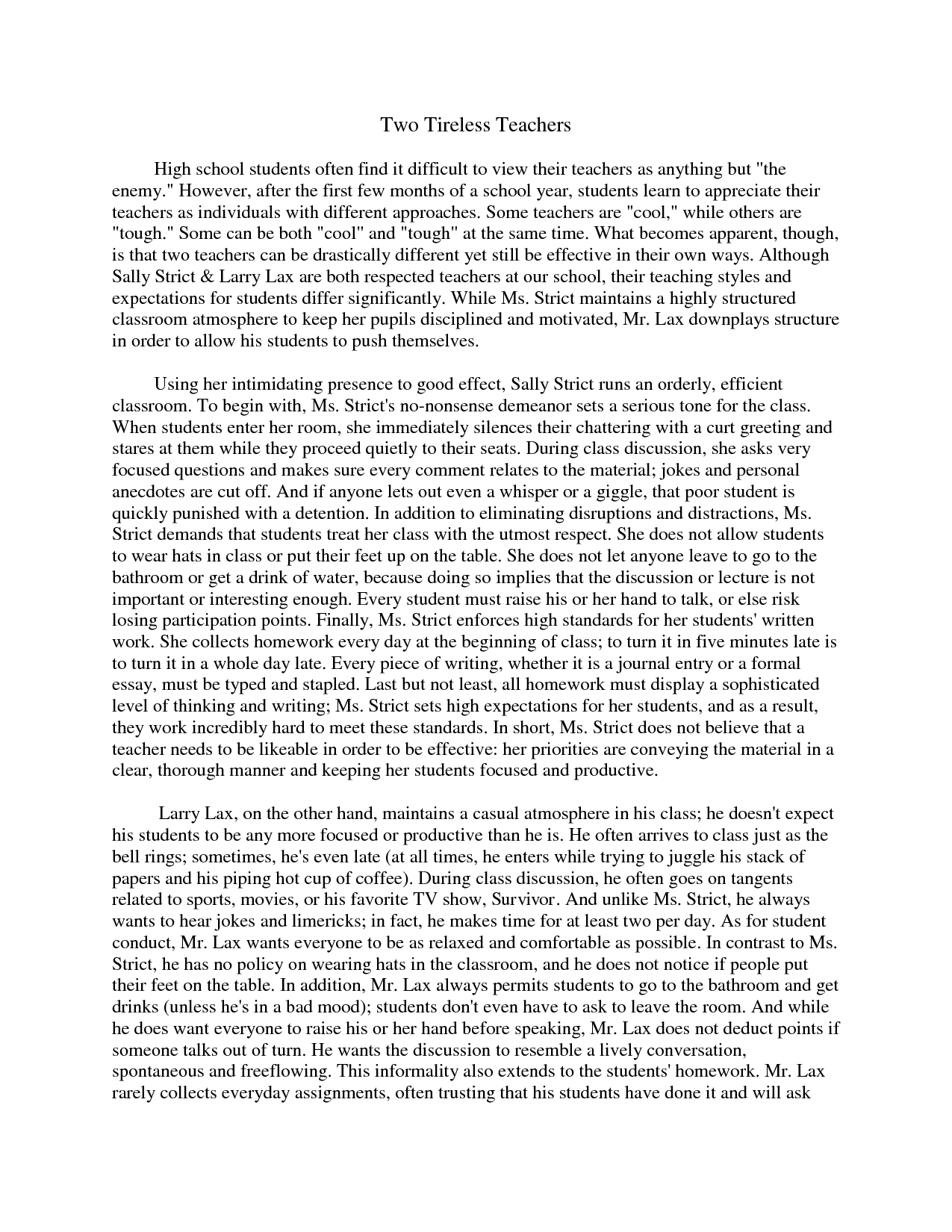 compare and contrast essay examples for high school compare and paper teaching writing and high schools middot quotes about comparison and contrast quotesgram