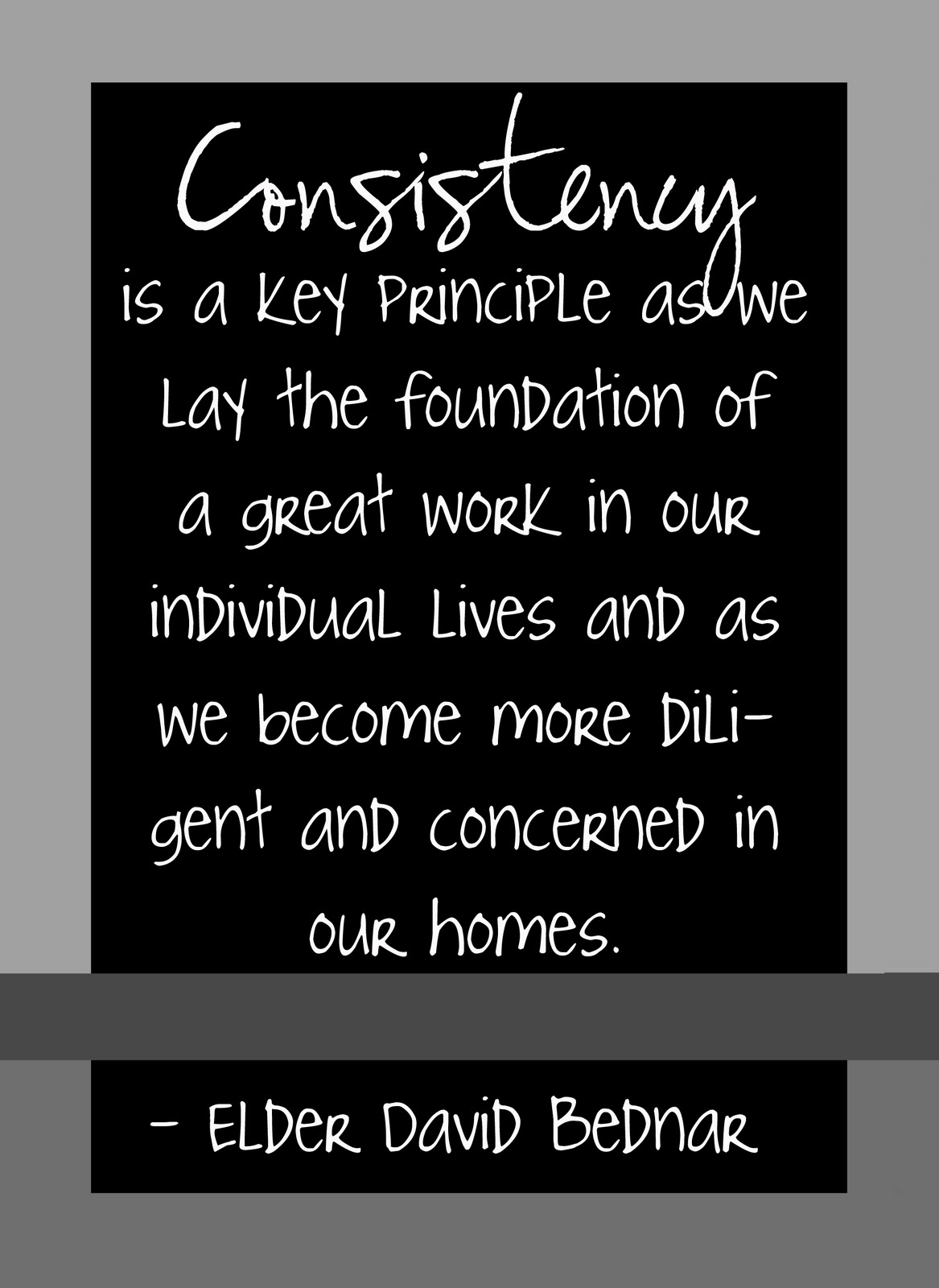 Motivational Quotes About Consistency: In The Workplace Quotes About Consistency. QuotesGram