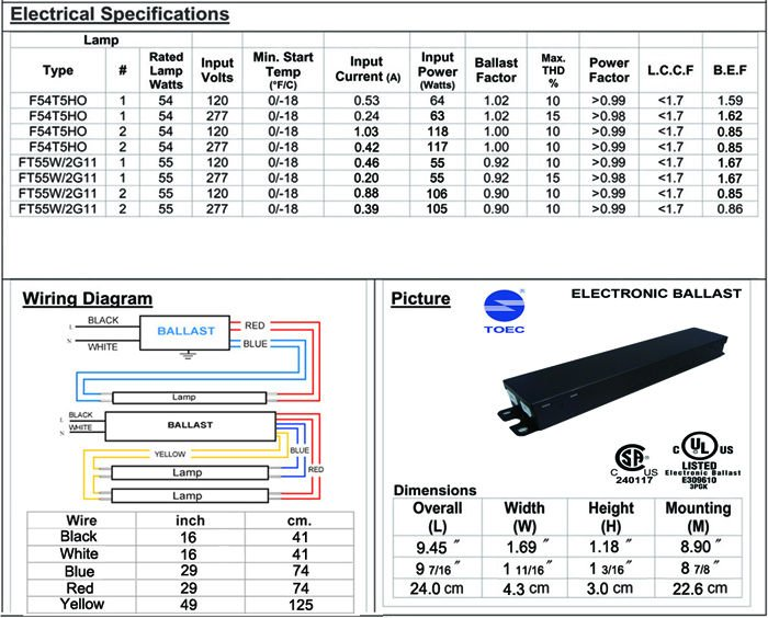 advance t5 ballast wiring diagram
