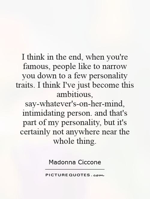 When That One Person Quotes: Quotes About Personality Traits. QuotesGram