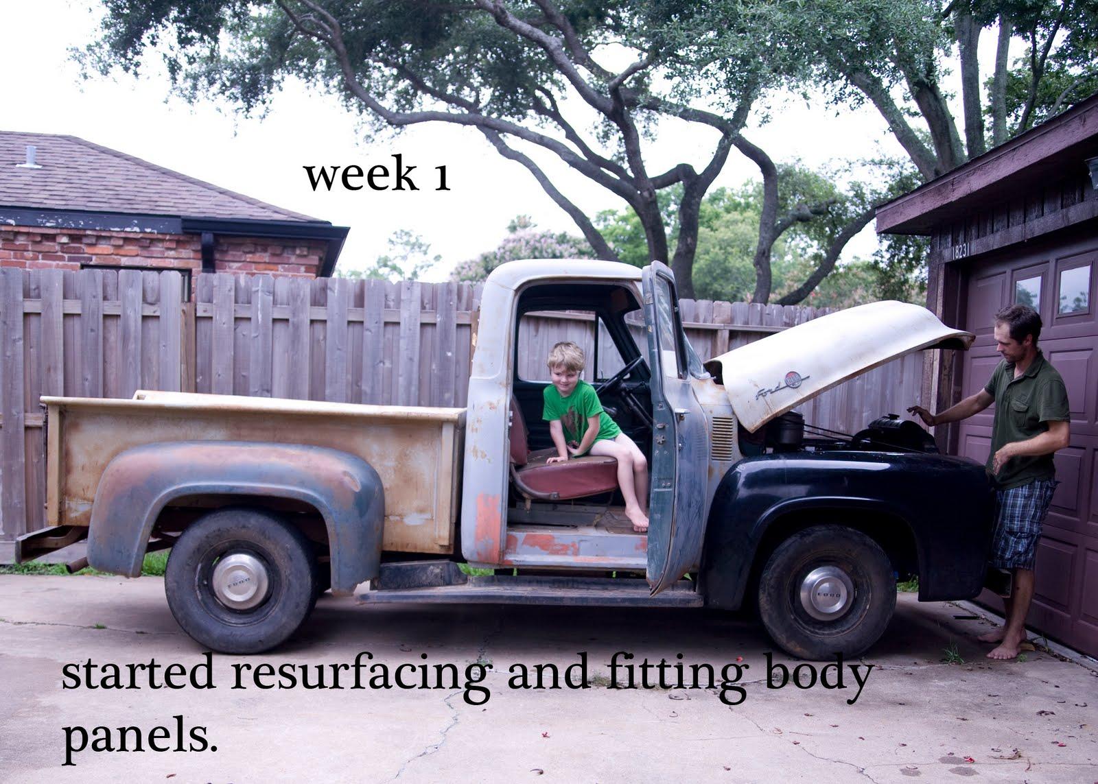 restoring an old truck essay