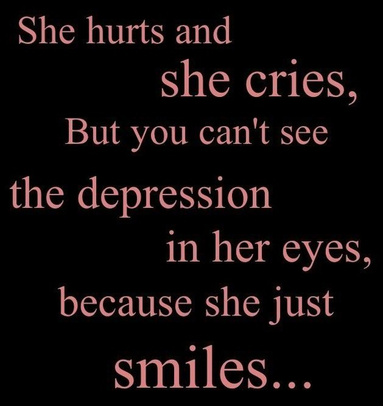 Saying Quotes About Sadness: Quotes About Depression And Hope. QuotesGram