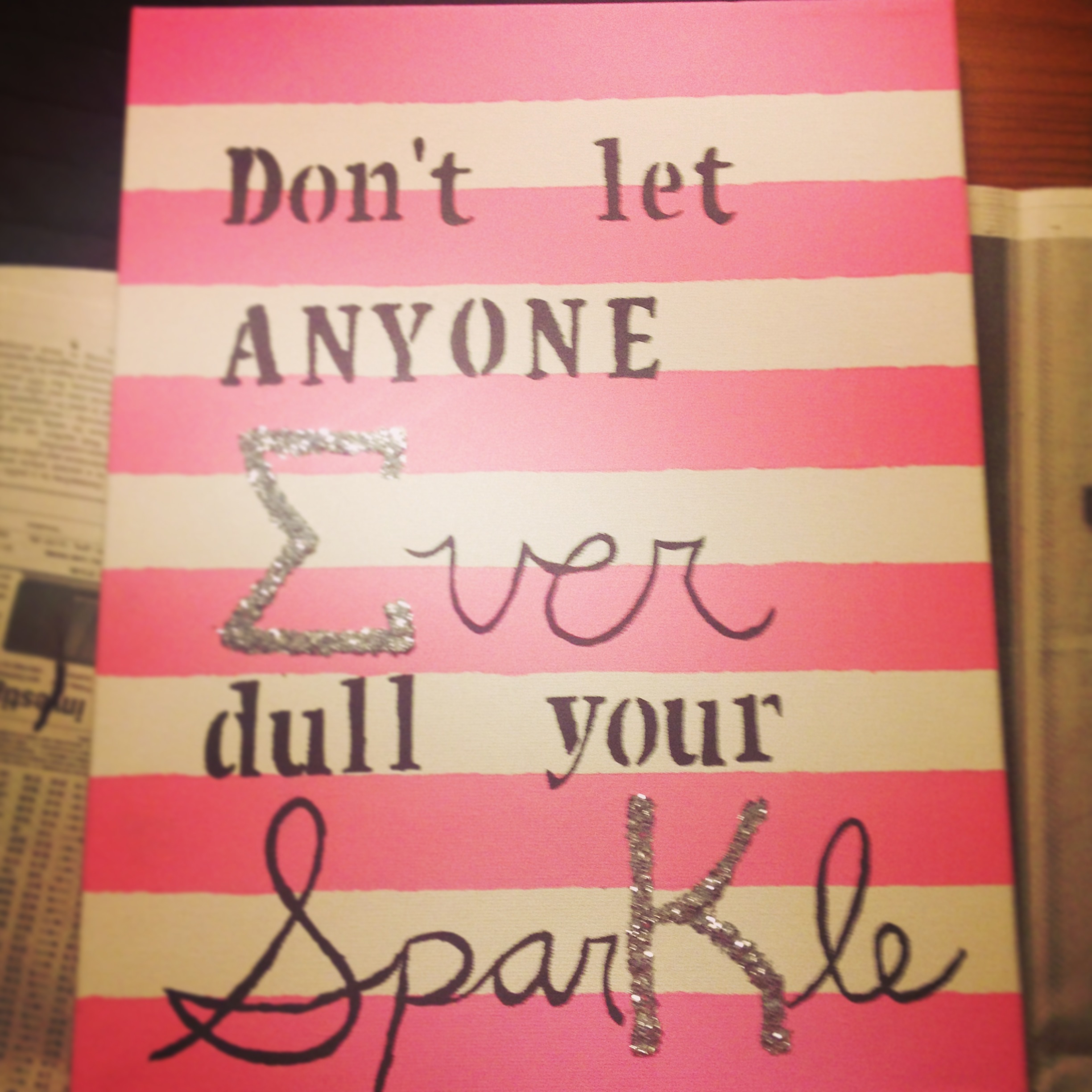 Cute Quotes On Canvas