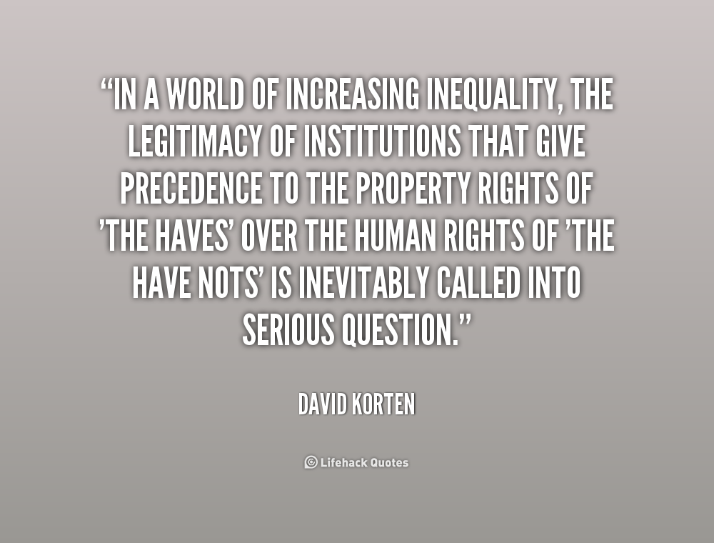 Inequality Quotes. QuotesGram