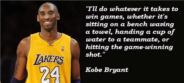 sports quotes by kobe bryant quotesgram