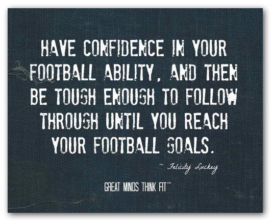 Cute football quotes for boyfriend