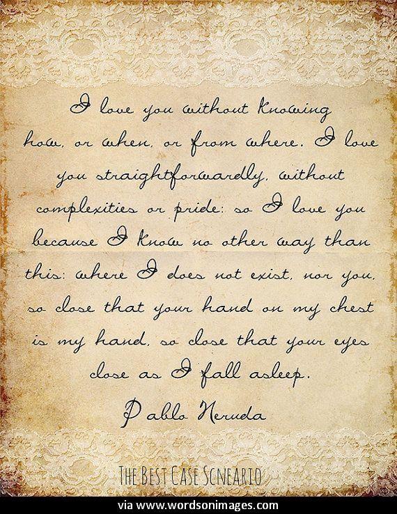 Pablo Neruda Analysis