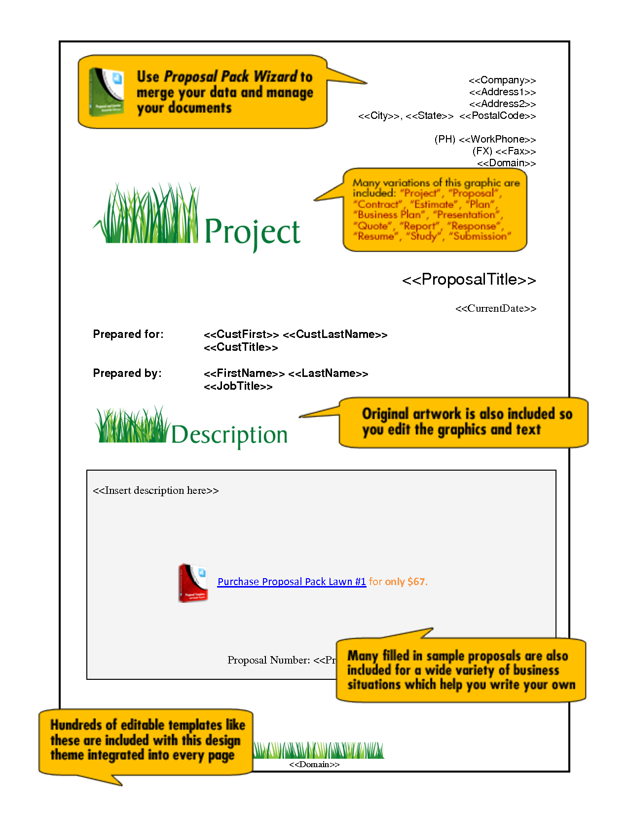 lawn maintenance proposal template lawn xcyyxh com sample pavement maintenance proposal created lawn builder