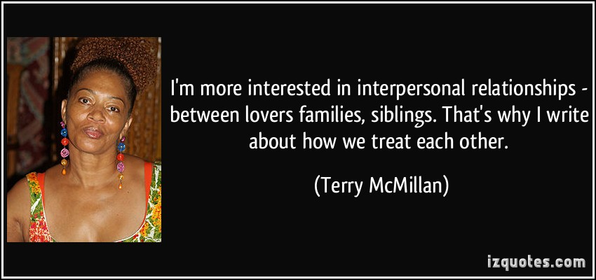 interpersonal and family relationship