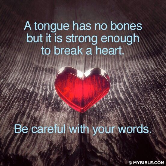 taming your tongue and being wise The saying sticks and stones may break my bones, but words will never hurt me  just simply isn't true taming the tongue can be difficult, but the tongue has.