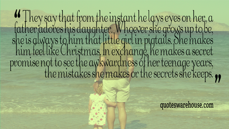 Quotes About Fathers Not Being There: Father Daughter Quotes. QuotesGram
