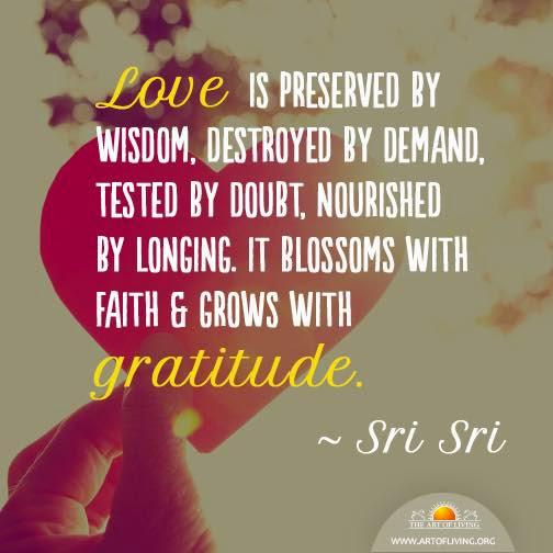 Sri Sri Ravi Shankar Quotes On Smile: Sri Sri On Love Quotes. QuotesGram