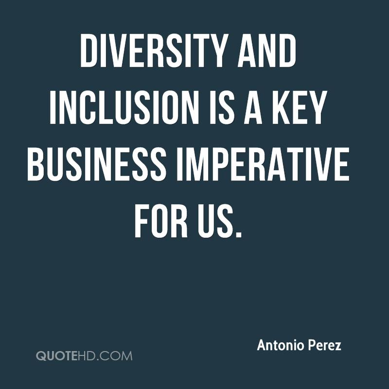 Inspirational Quotes About Cultural Diversity: Quotes About Diversity And Inclusion. QuotesGram