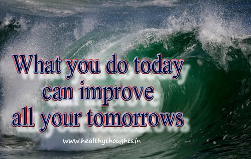 Film With Quote I Must I Must I Must Improve My Bust: Thought For Today Inspirational Quotes. QuotesGram