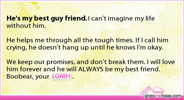 My Best Guy Friend Quotes. QuotesGram