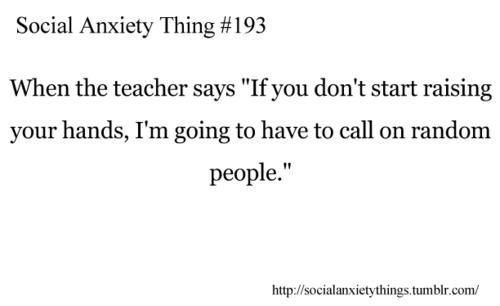 Quotes About Anxiety Tumblr Social Anxiety Quotes....