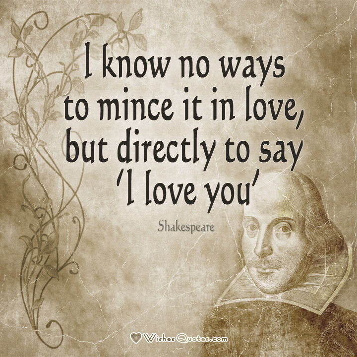 Quotes About Love: Shakespeare Love Quotes. QuotesGram