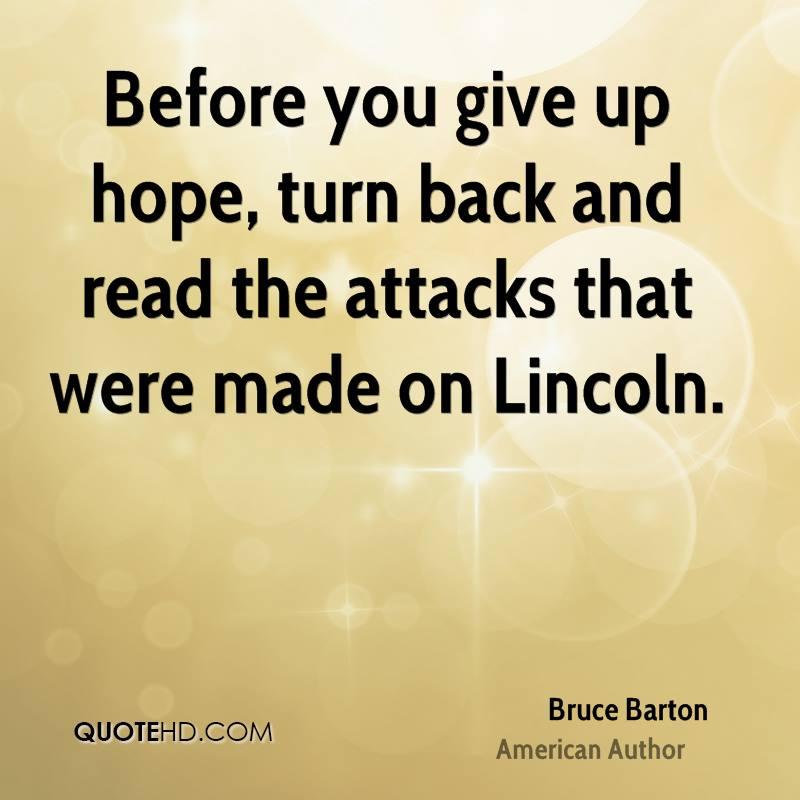 Giving Hope Quotes: Giving Up Hope Quotes. QuotesGram