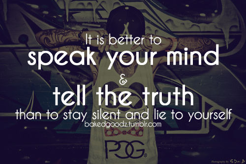 quotes about speaking your truth quotesgram