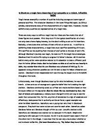 Okonkwo Tragic Flaw Essay
