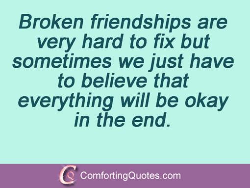 Quotes About Lost Friendship Quotesgram: Friendship Quotes Broken Trust. QuotesGram
