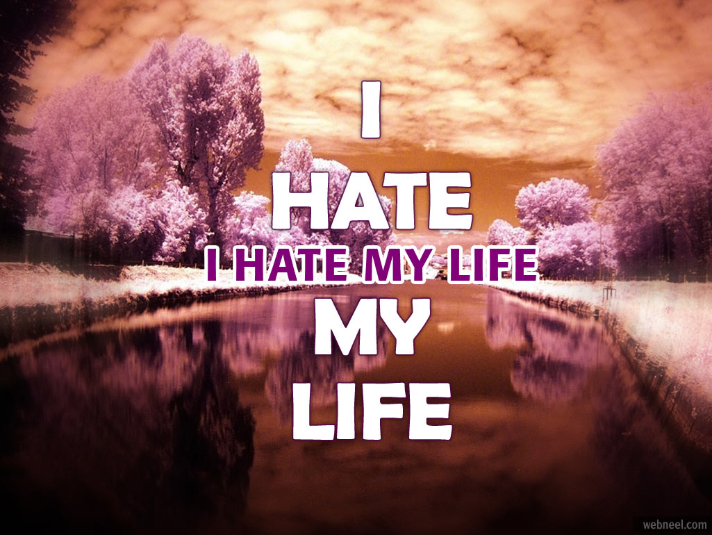 Life Quotes: I Hate My Life Quotes. QuotesGram