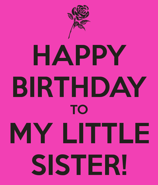 Swell Little Sister Bday Quotes Quotesgram Funny Birthday Cards Online Elaedamsfinfo