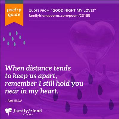 Short sweet goodnight poems