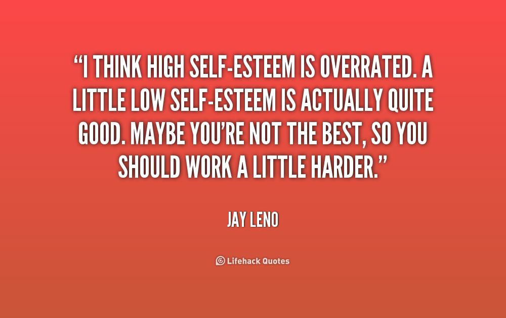 Self esteem quotes