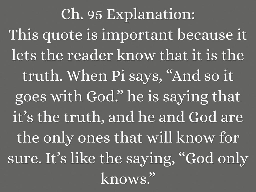 Life Of Pi Quotes Explained. QuotesGram