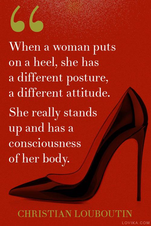 Man Red Bottom Shoe