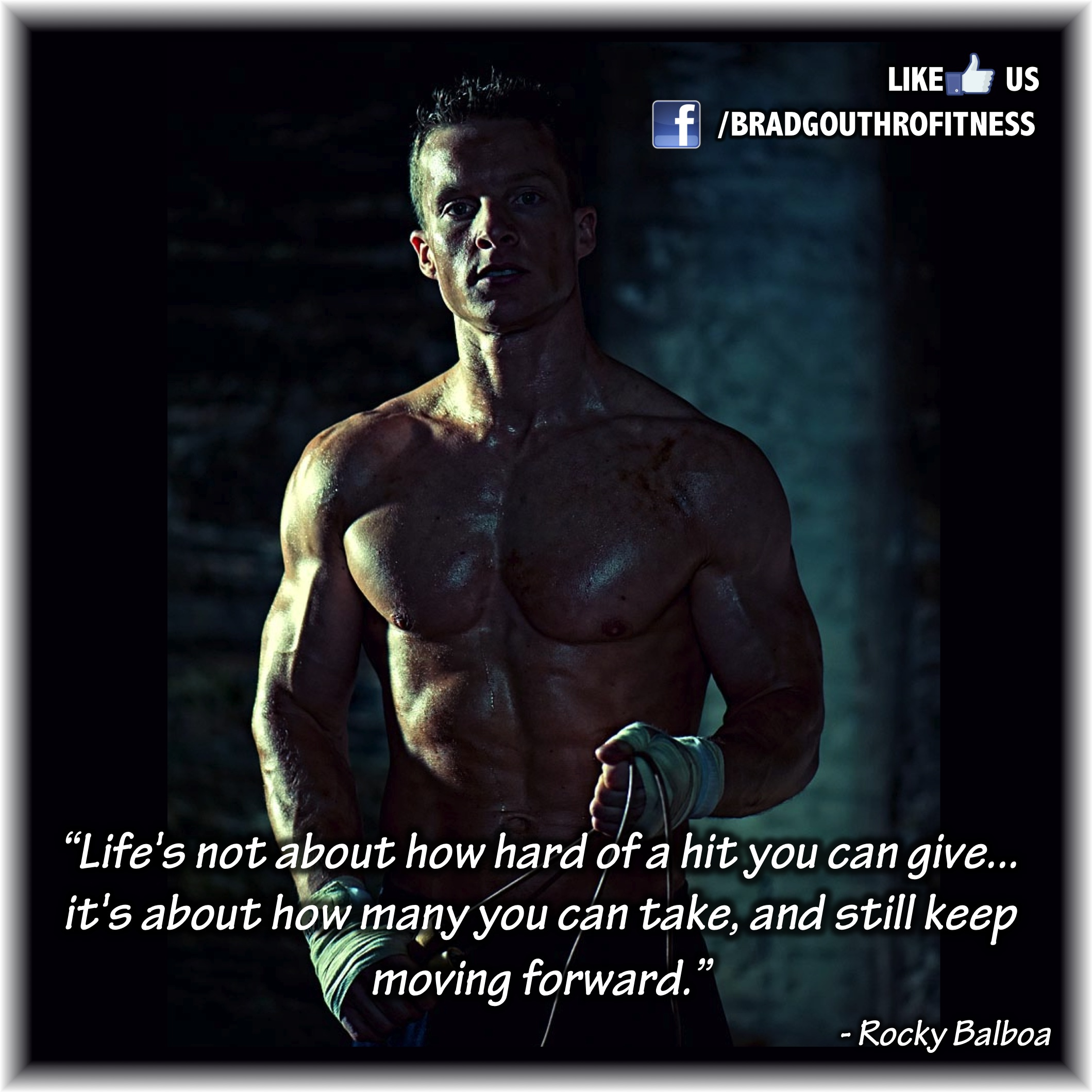 Rocky Balboa Life Is Hard Quote: Rocky Quotes About Life. QuotesGram