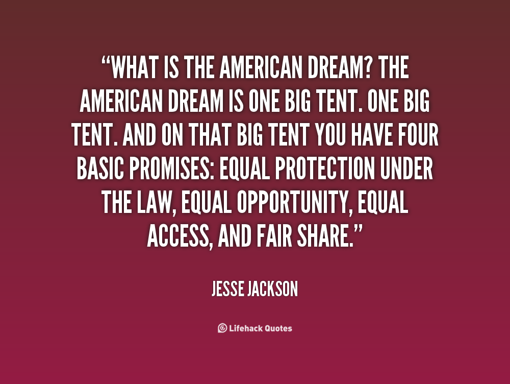 american dreamer Unit1 the american dream unit overview if asked to describe the essence and spirit of america, you would probably refer to the american dream first coined as a phrase.