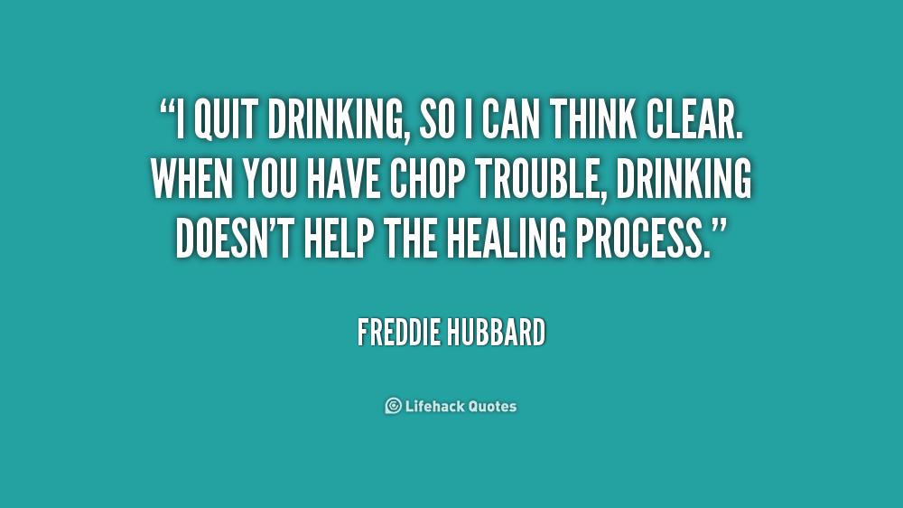 motivational quotes quitting drinking quotesgram