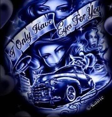 Always And Forever Gangster Style Tattoo Design