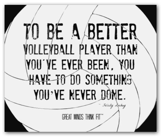 Motivational Quotes For Sports Teams: Quotes About Volleyball Players. QuotesGram