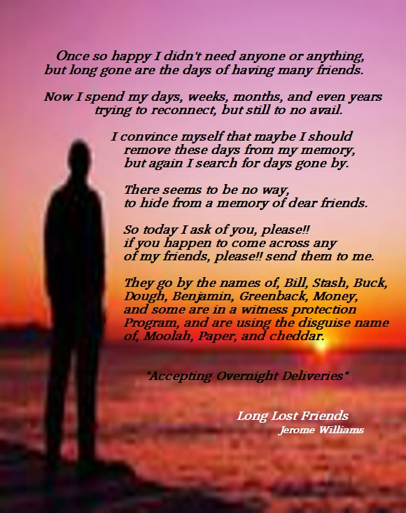 Letter To Long Lost Friend Example