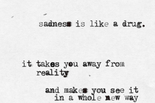 Sad Quotes Black And White Quotesgram: Sad Quotes About Drugs. QuotesGram