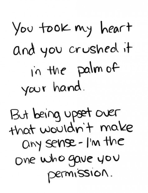 Heartbroken quotes tumblr for her