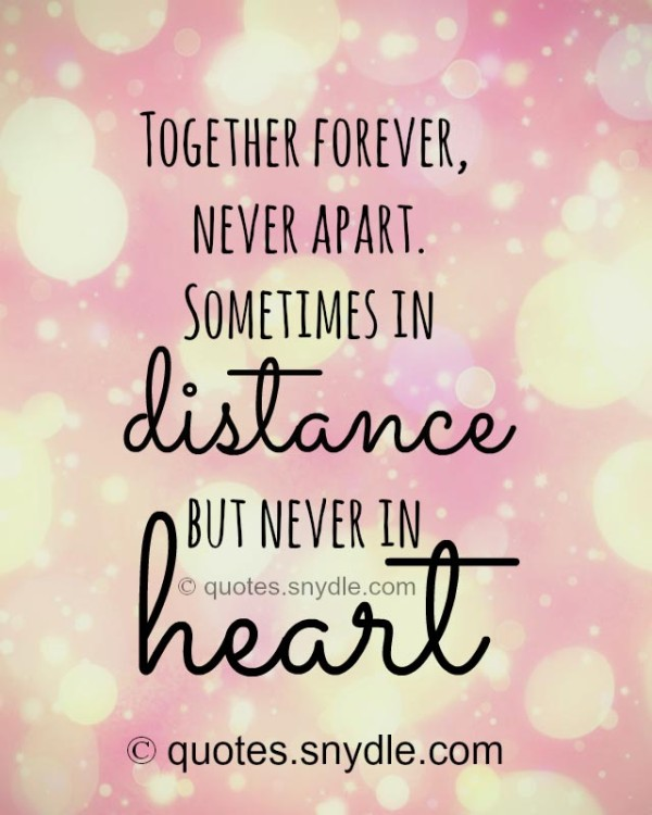 Encouraging Quotes For Long Distance Relationships: Inspirational Quotes About Distance. QuotesGram